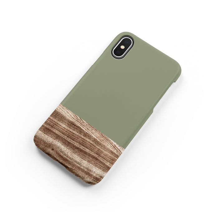 Army Green Snap iPhone Case - bycsera