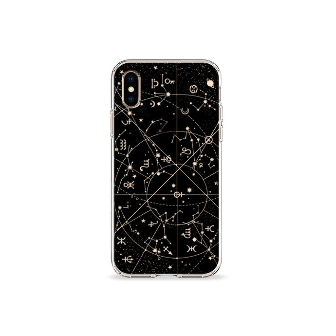 Dawn Constellations Clear iPhone case - bycsera