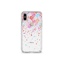 Load image into Gallery viewer, Confetti Clear iPhone Case - bycsera