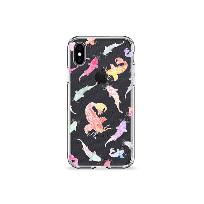 Koi Clear iPhone Case - bycsera