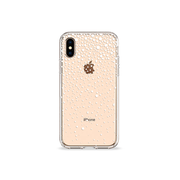 Snowflake Clear iPhone Case - bycsera