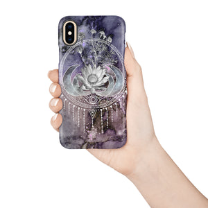 Moonflower Snap iPhone Case - bycsera