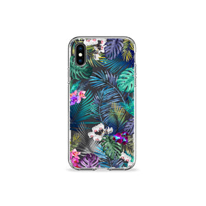 Tropical Medley Clear iPhone Case - bycsera