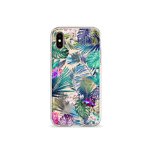 Load image into Gallery viewer, Tropical Medley Clear iPhone Case - bycsera