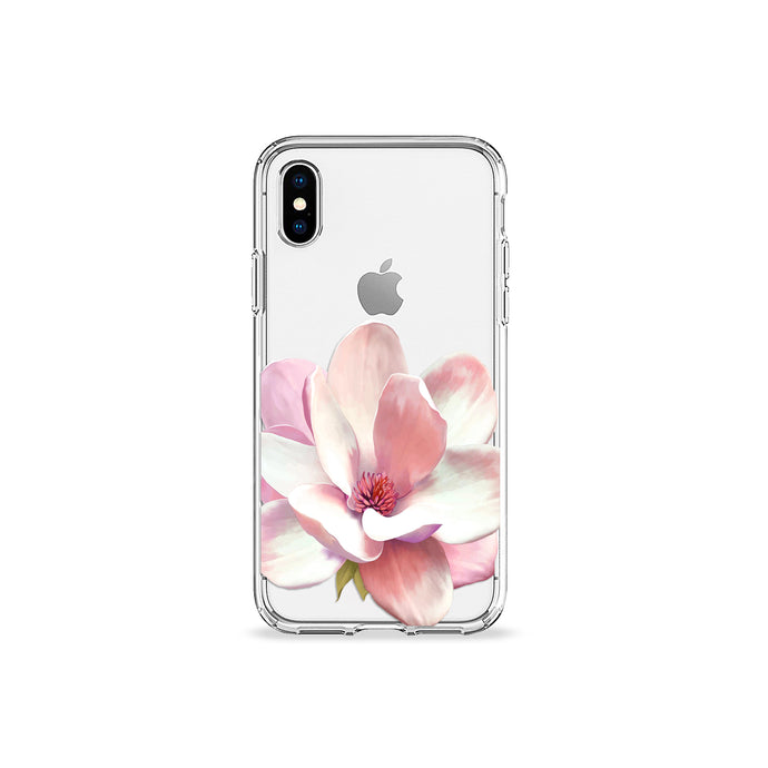 Flower Petal Clear iPhone Case - bycsera