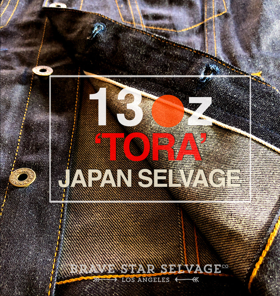 The Ironside 13oz 'Tora' Japan Selvage