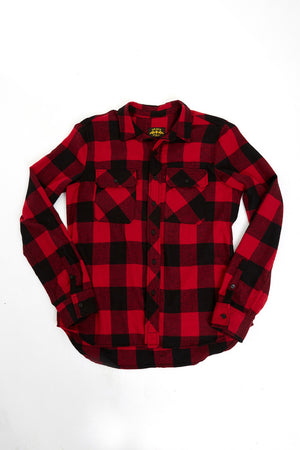 Heavyweight American Made Flannel Shirt Made in USA