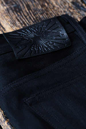 The Slim Taper 2.0 15oz Double Black Selvage Denim