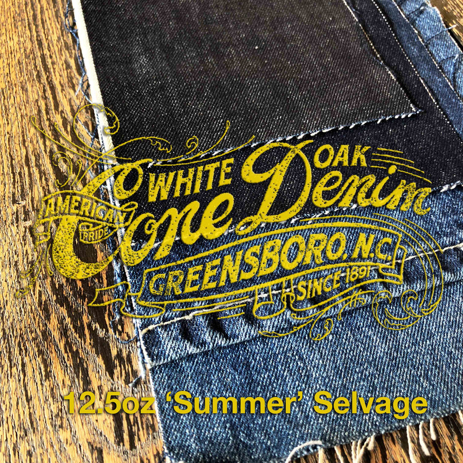 The Slim Taper 2.0 12.5oz Cone Mills 'Summer' Selvage
