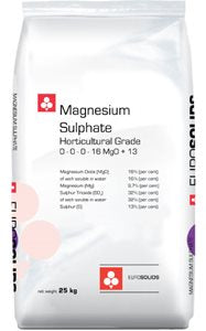 Eurosolids Magnesium Sulphate HG - 25kg (55 lbs.).