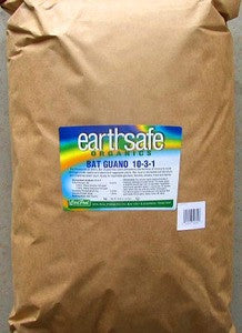 EarthSafe Bat Guano - 25 lbs.