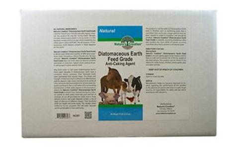 Nature's Creation Diatomaceous Earth Feed Grade - 10 lbs.