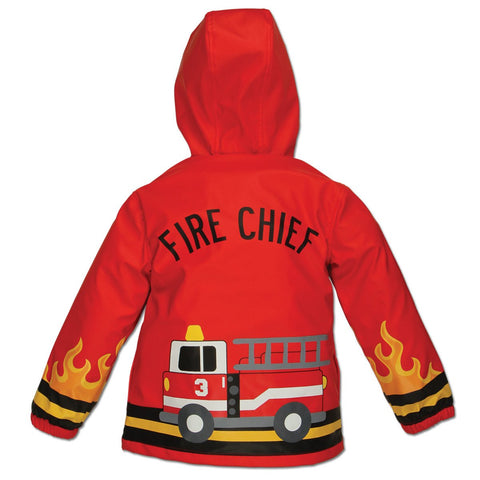The Little Fire Chief Personalised Raincoat