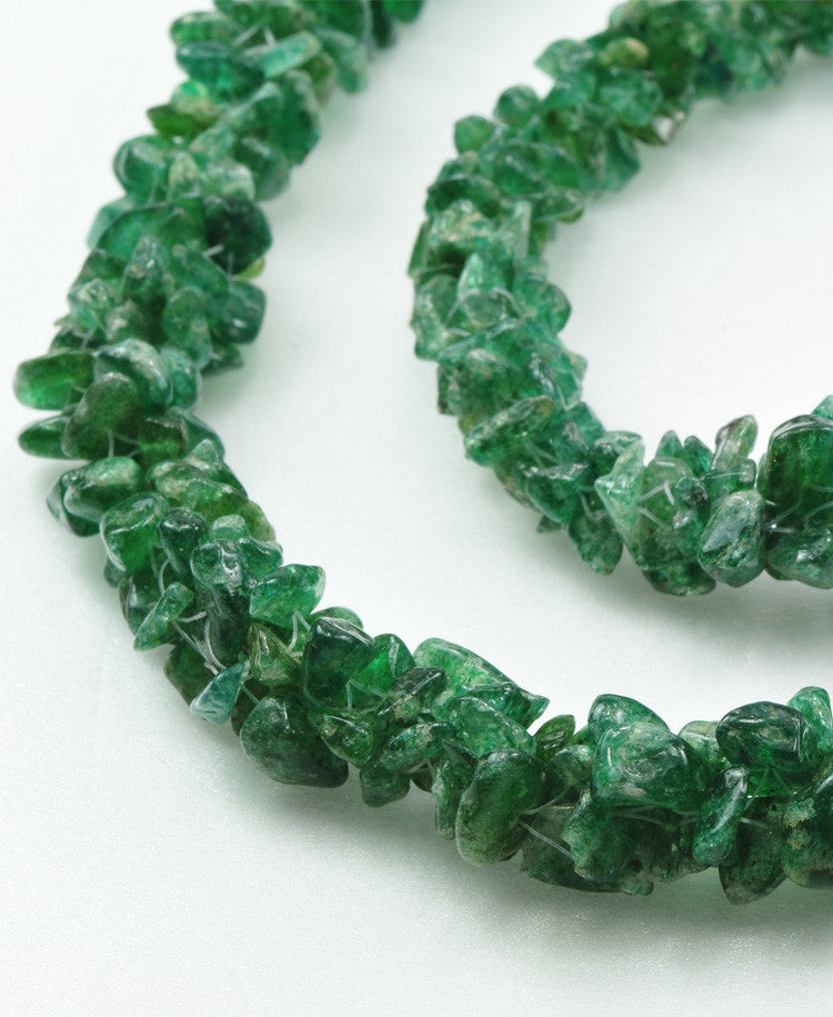 Delfina Emerald necklace