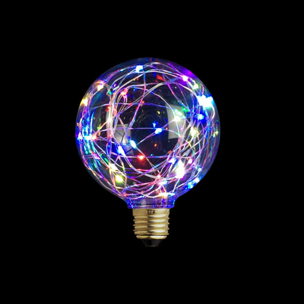 Modern Sparkling LED Edison Bulb. Decorative Bulb for Home Decoration