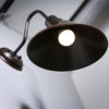 industrial gooseneck sign wall light