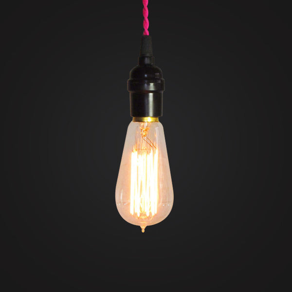 edison bulb vintage industrial hanging lamp