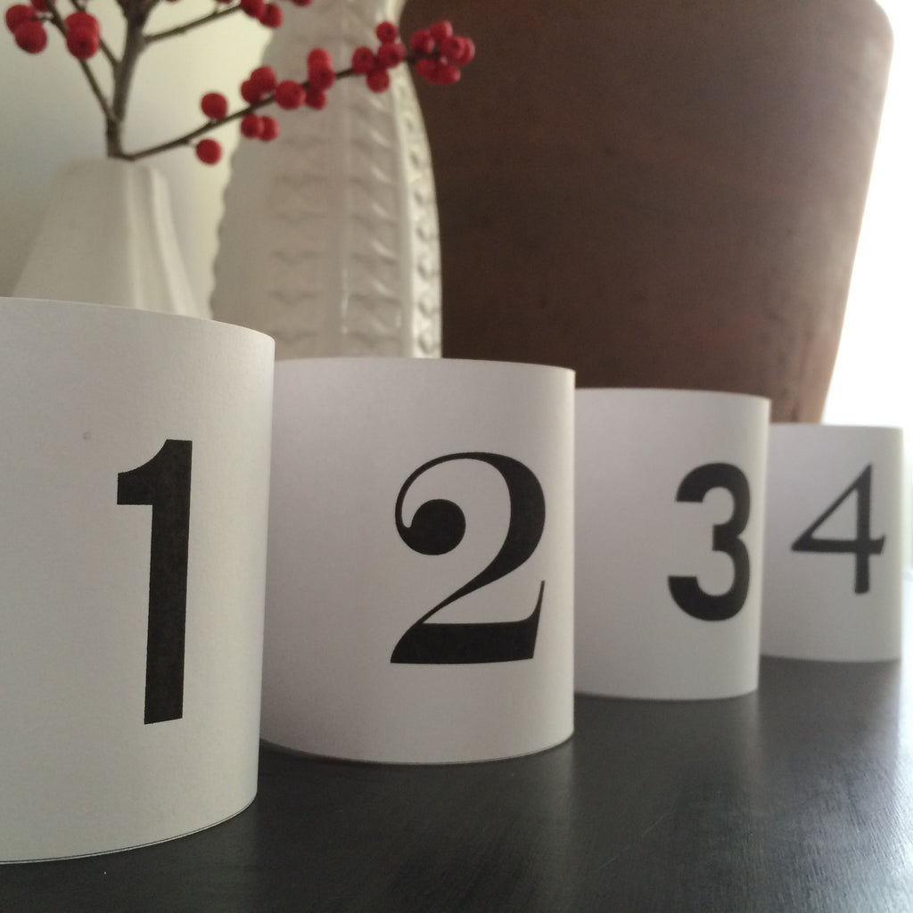 Advent Candle Printables