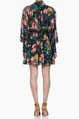 Zimmermann Allia Shirred Short Dress