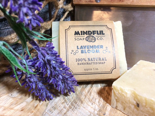 Lavender Bloom Soap Bar w/ Shea Butter