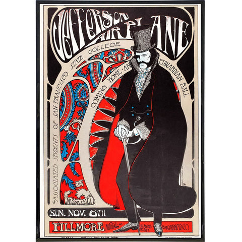 Jefferson Airplane Show Poster Print