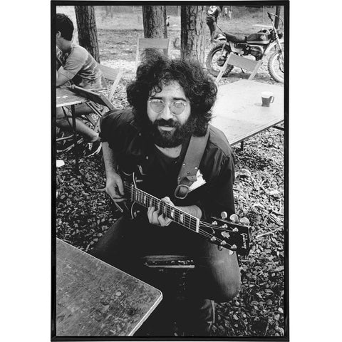 Jerry Garcia Photo Print