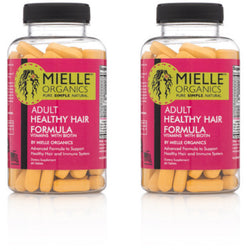 Mielle Organics Styling Product 2 Month Supply of Advanced Healthy Hair Formula