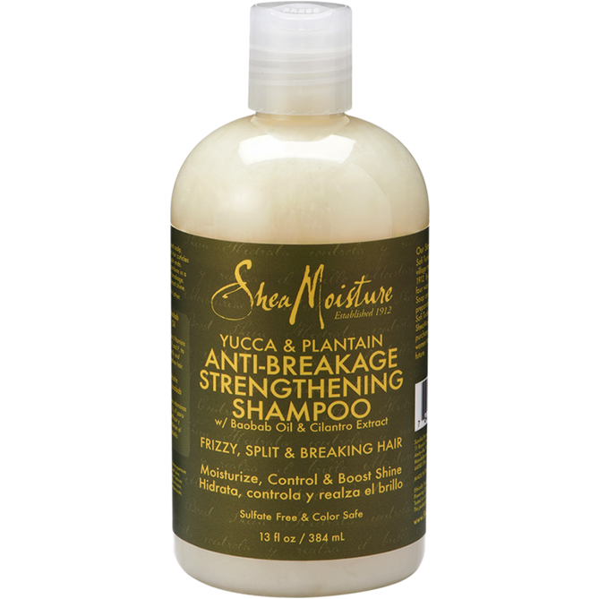 Shea Moisture Hair Care Shea Moisture: Yucca & Plantain Anti-Breakage Strengthening Shampoo 13oz