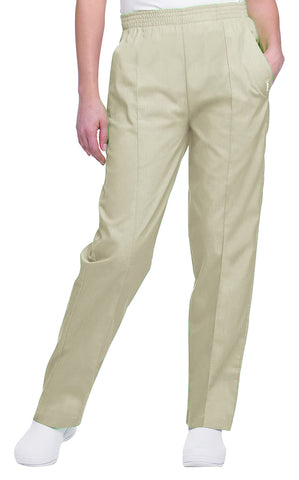 Landau Women's Classic Tapered Leg Srub Pants