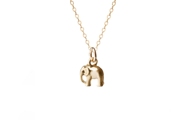 Mini Elephant Necklace