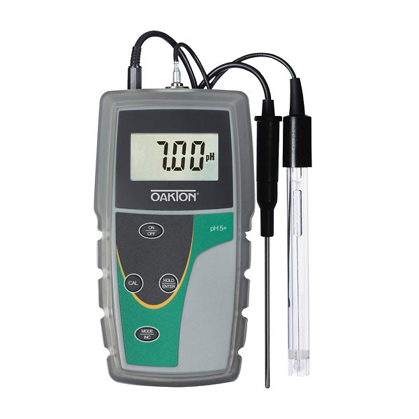 Medidor Oakton pH 6+ pH/°C/mV