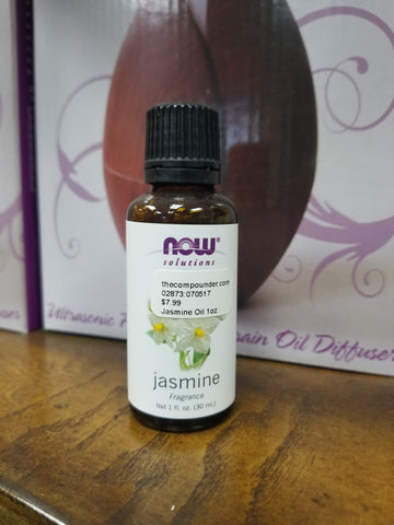 Essential Oils, Jasmine - 1 fl oz.