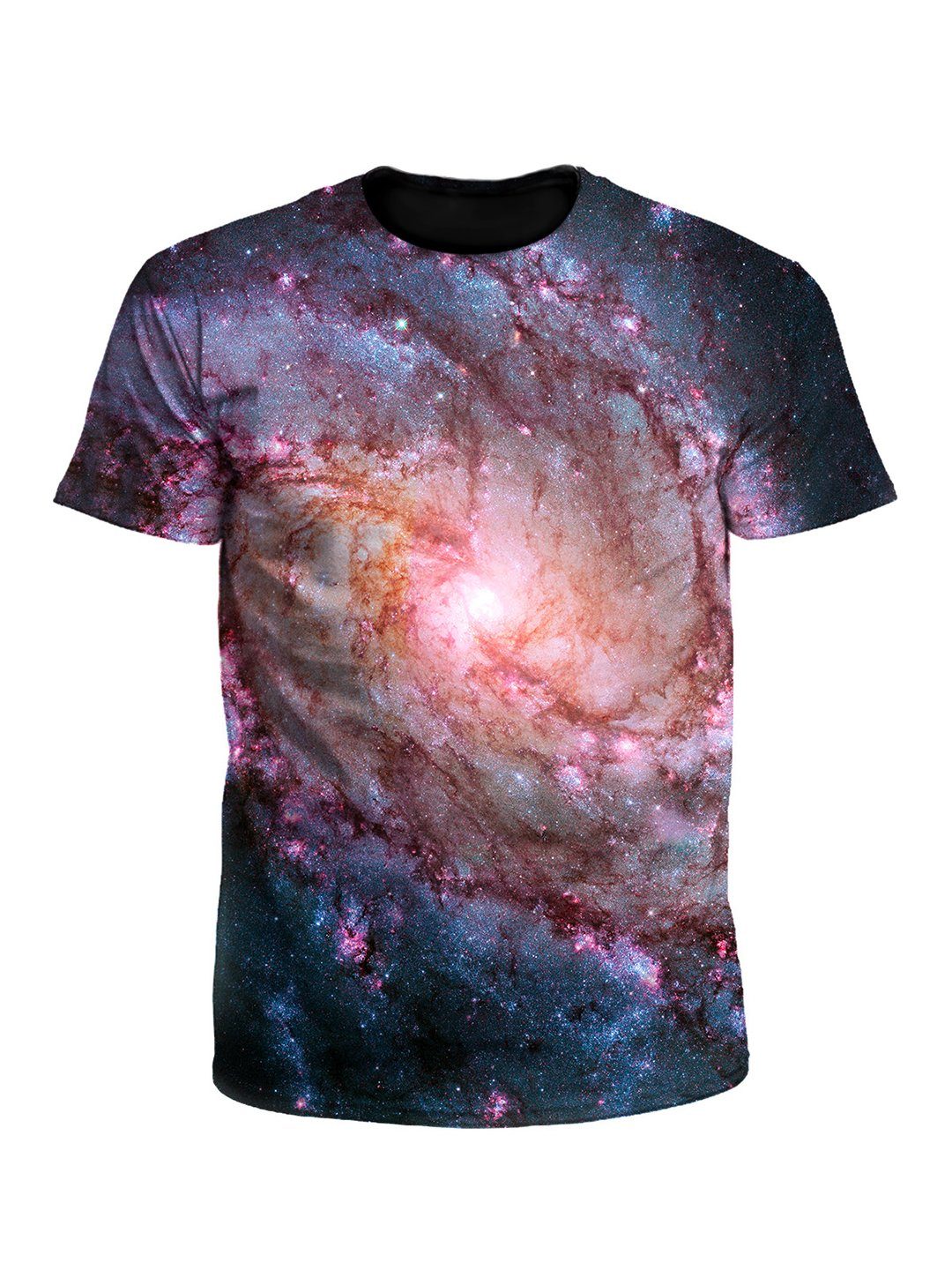 Twisted Skies Spiral Vortex Galaxy Unisex T-Shirt