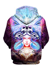 Repressed Illumination Pullover Art Hoodie - GratefullyDyed - 2