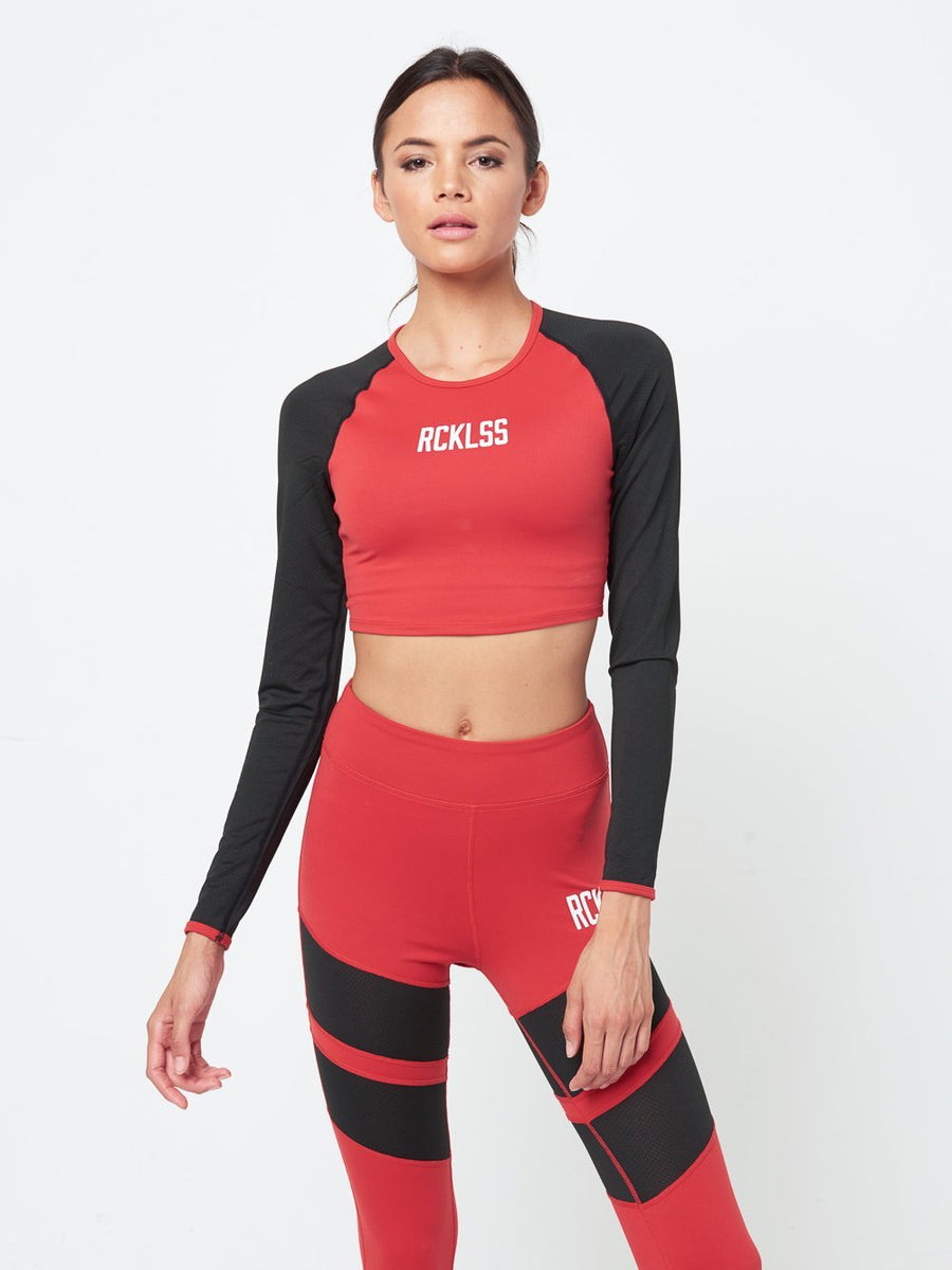 Joni Sports Bra- Red