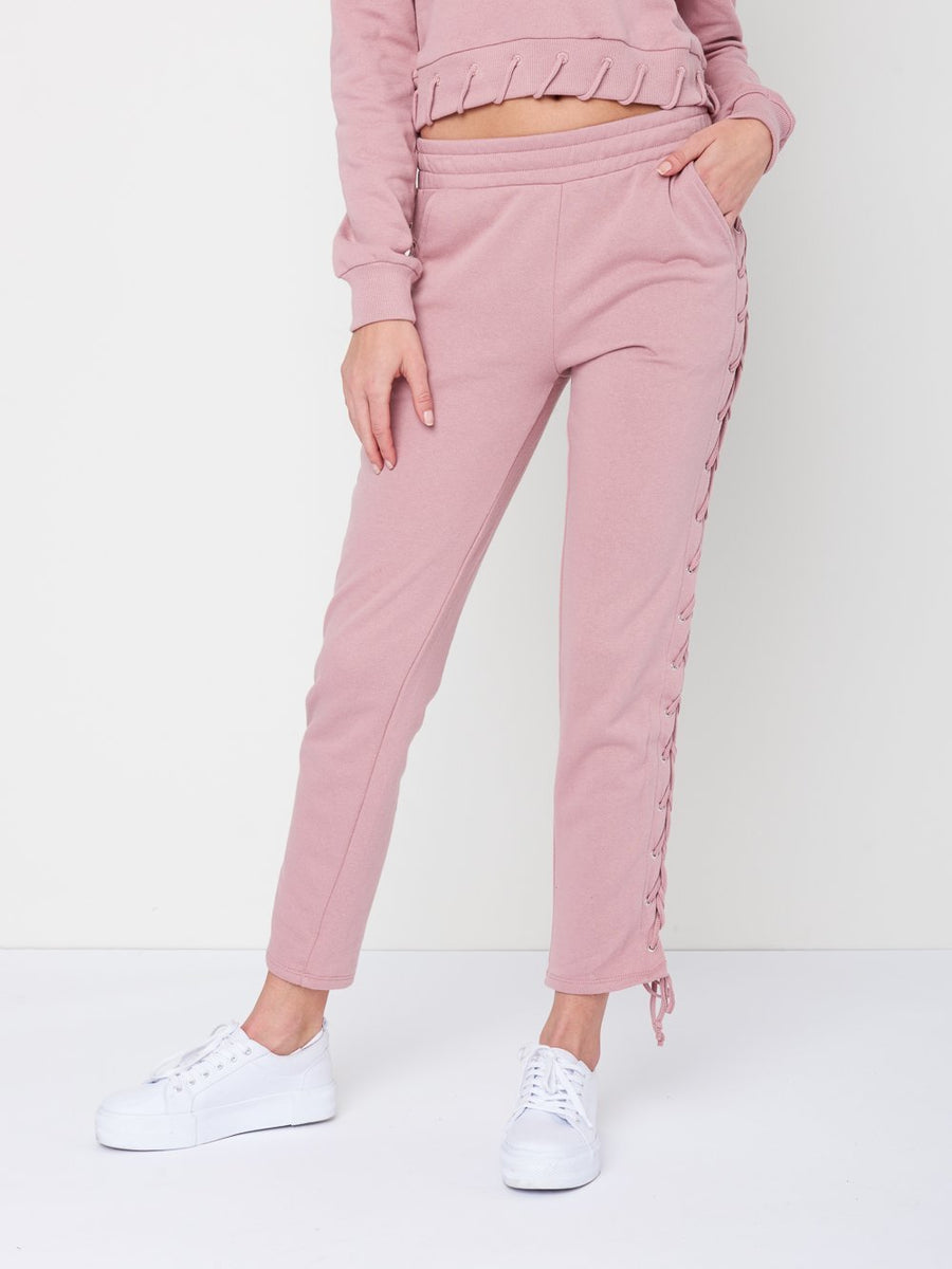 Claire Sweatpants- Rose