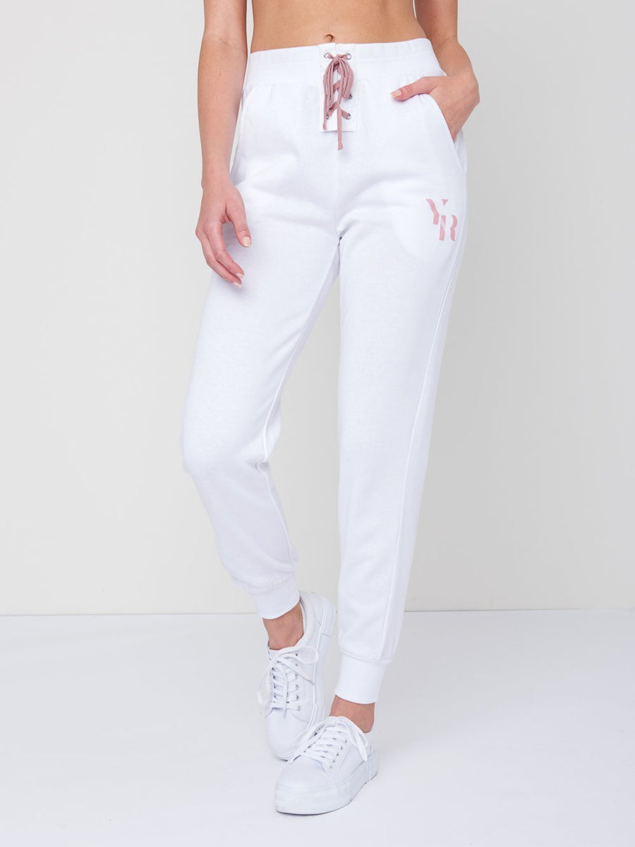 Kellie Sweatpants- White