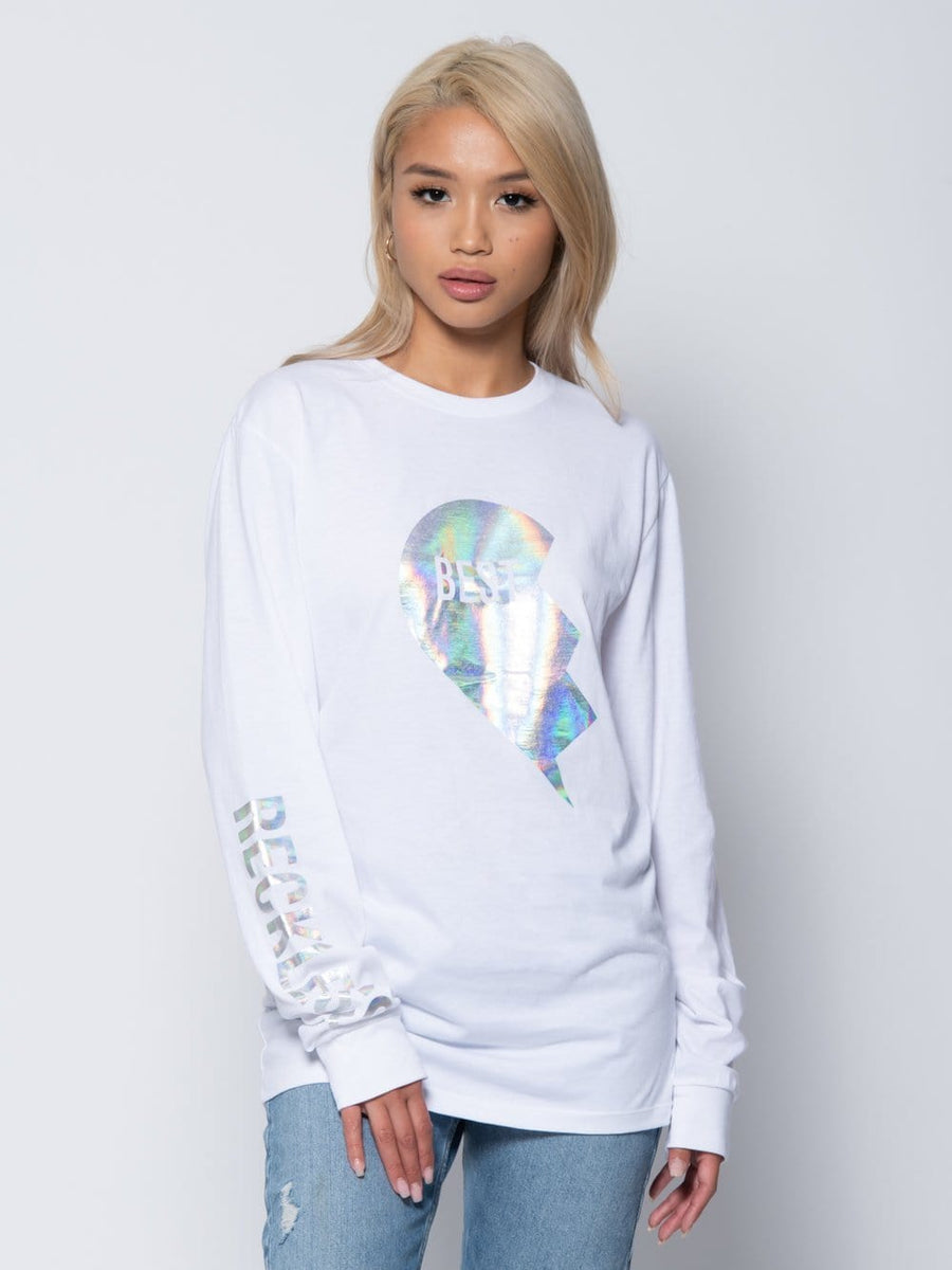 Annie Long Sleeve Tee - White