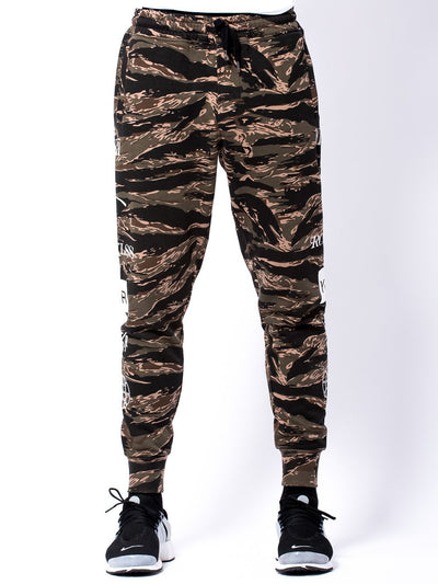 Young and Reckless Mens - Bottoms - Sweatpants Micah Sweatpants- Tiger Camo