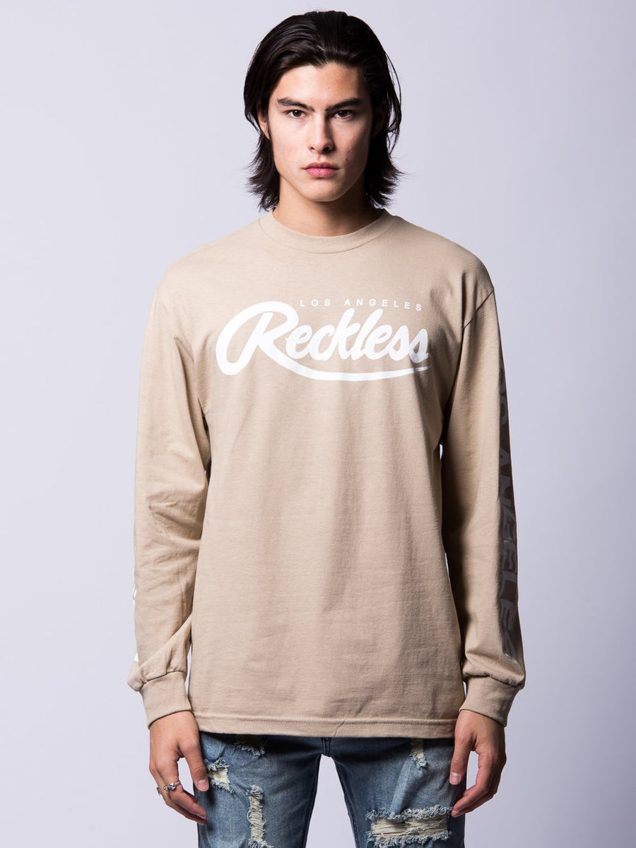 Established Long Sleeve- Sand