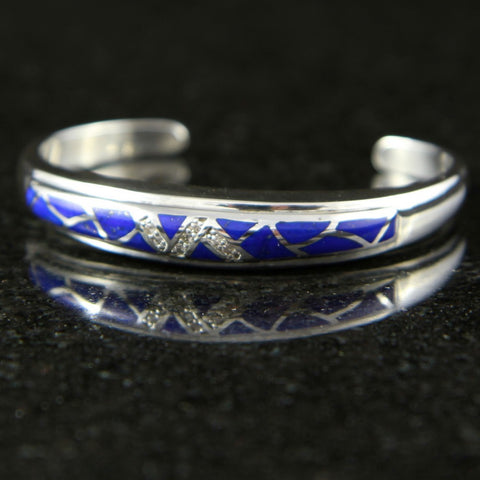 DeAcoma Convergence Bracelet with Scalloped Inlay