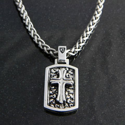 Victory Cross Dog Tag