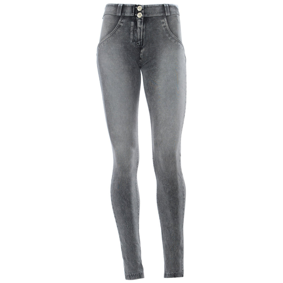 Freddy WR.UP® Stonewashed Denim Regular Rise Skinny - Grey