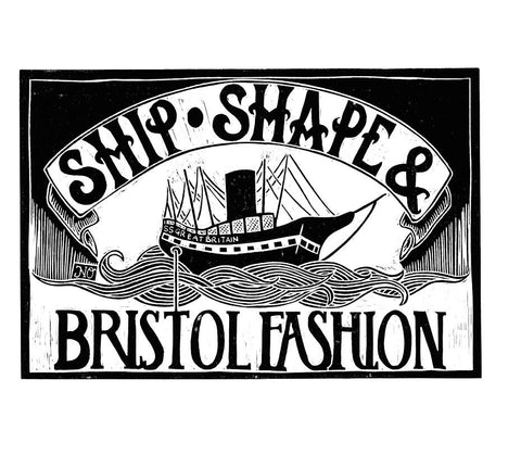 Bristol Fashion Print by Jenni Stuart