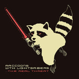 LICD - T-Shirt: Raccoons Glow In The Dark Edition!