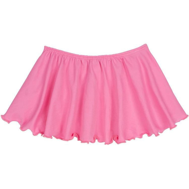 Bright Pink Ballet Dance Skirt for Toddler and Girls