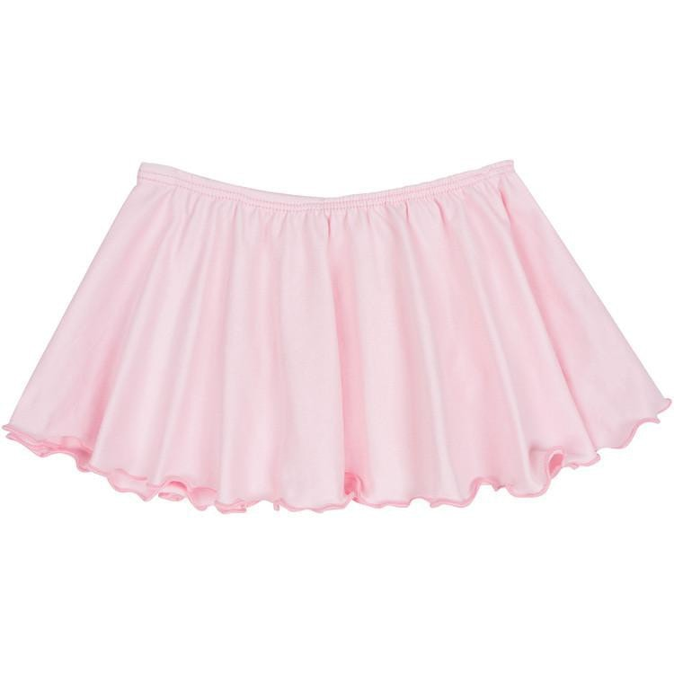Light Pink Ballet Dance Skirt for Toddler and Girls