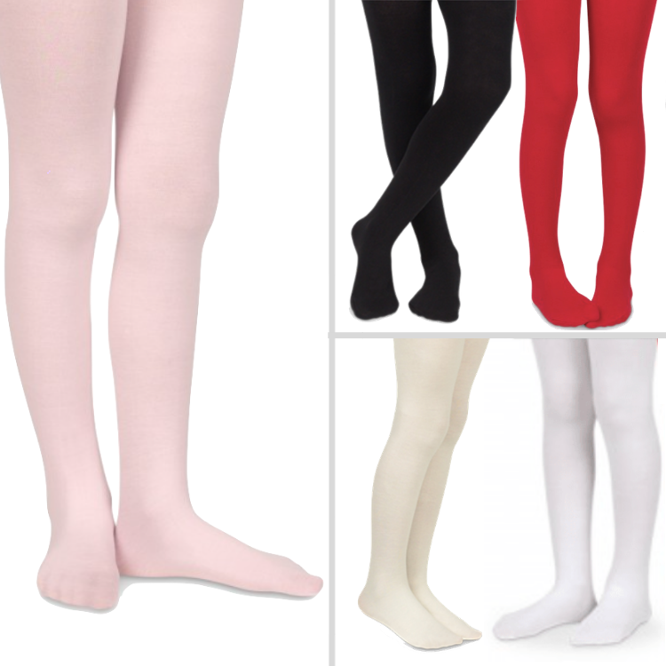 Jefferies Microfiber Tights for Infants and Girls