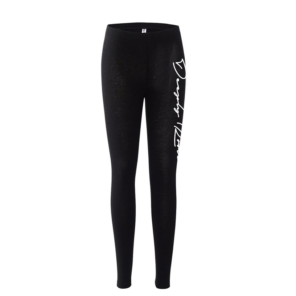 WOMEN LEGGINS (Deeply Rooted Logo)