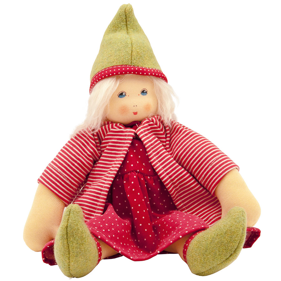 Nanchen Faye Organic Fairy Doll | Oompa Toys - Seated